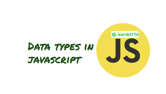 Data types in javascript