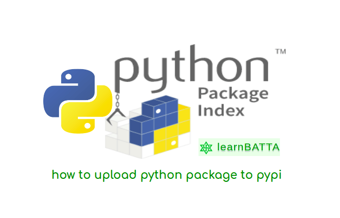 how to upload python package to pypi